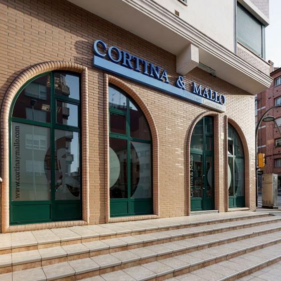 Oficinas centrales de Cortina y Mallo en Gijón