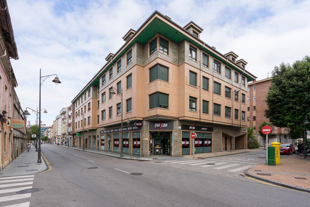 Fachada Calle Lealtad 1 Gijón