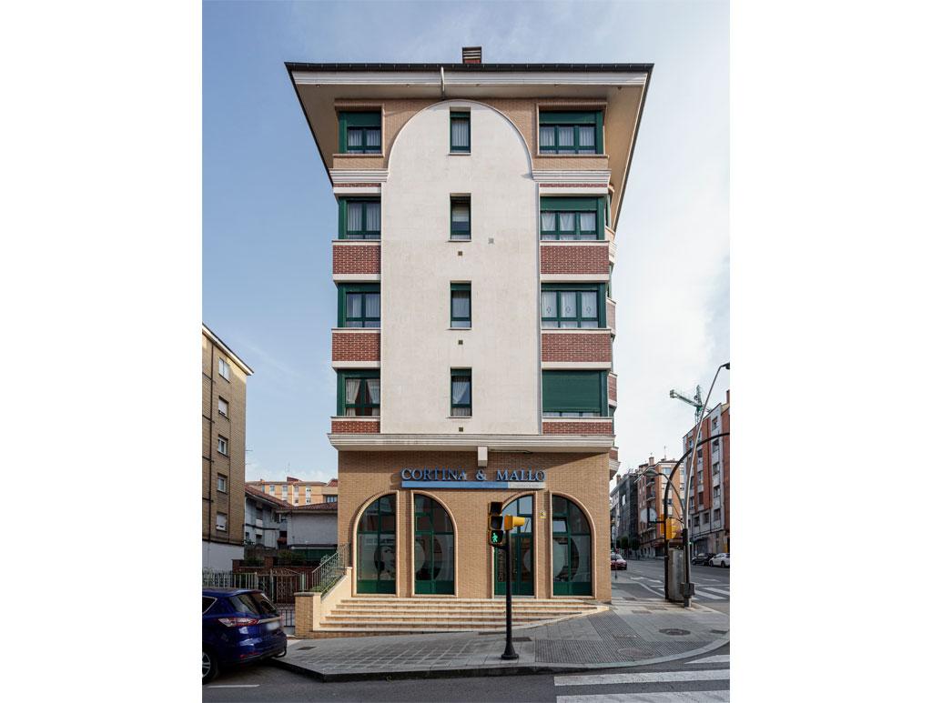 Proyecto finalizado edificio en Calle Ramón y Cajal, 51, Gijón