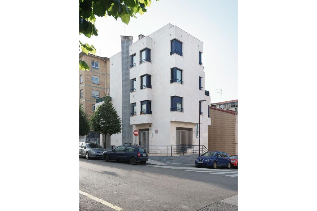 Proyecto finalizado Edificio CAPRI, Gijón
