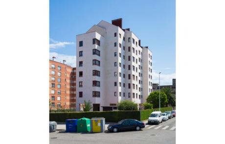 Proyecto finalizado Residencial La Fueya, Gijón