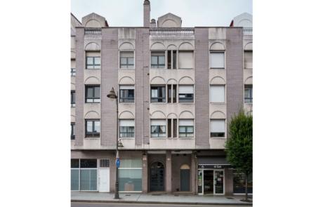 Fachada edificio Avda Galicia, 8, Gijón