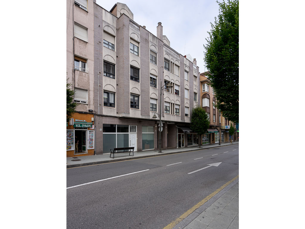Proyecto finalizado edificio Avda Galicia, 8, Gijón